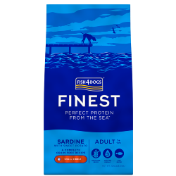 Fish4Dogs Finest Grain Free Dog Food - Sardine With Sweet Potato (Adult Small Breed)