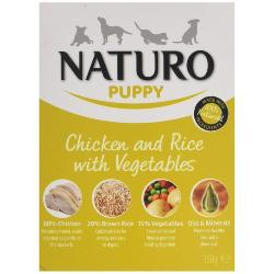 Naturo Puppy Chicken And Rice With Vegetables 150g