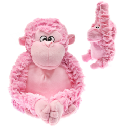 Patchwork Pet Pastel Pink Gorilla Large