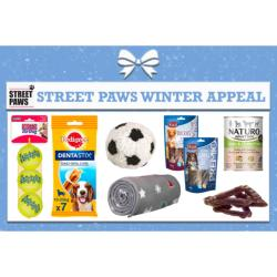 STREET PAWS - Small Winter Appeal box