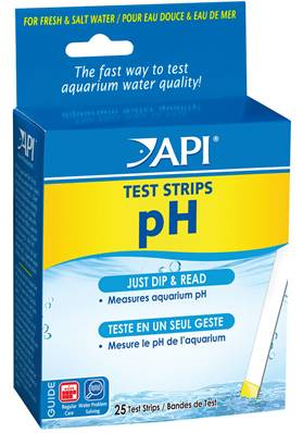 API PH Test Strips - 25 Strips Included