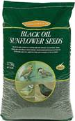 J&J Black Oil Sunflower Bird Seeds 12.75kg