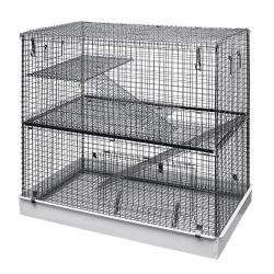 Lazy Bones Wire Chinchilla Cage 2 Story