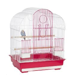 Liberta Virginia Pink-White Bird Cage
