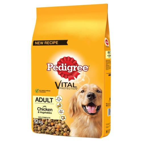 MANCHESTER & CHESHIRE DOGS HOME DONATION - Pedigree Complete Dog Food (Adult) - Chicken 12kg