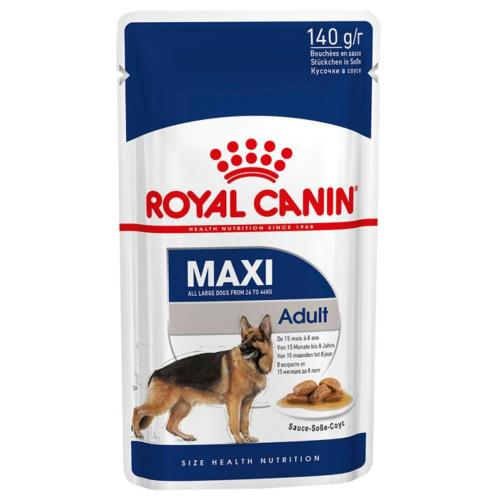 Royal Canin Wet Dog Food Maxi Pouch (Adult) - 140g