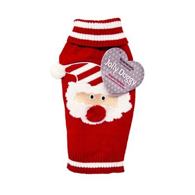 Rosewood Christmas Santa Claus Sweater Large 46cm