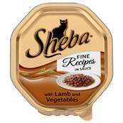 Sheba Cat Tray 85g Fine Recipes / Lamb in Sauce