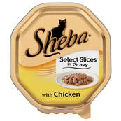 Sheba Cat Tray 85g Select Slices / Chicken in Gravy