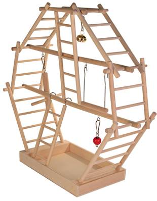 Trixie Wooden Ladder Playground For Cage Birds