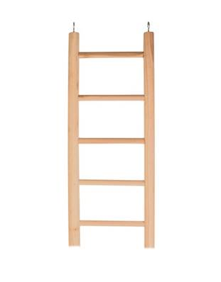 Trixie Wooden Ladder For Parrots, 5 Rungs/45 Cm