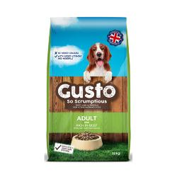 Gusto Dog Food (Adult) - Rich in Beef 12kg