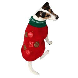 Armitage HoHoHo Red Christmas Jumper for Dogs