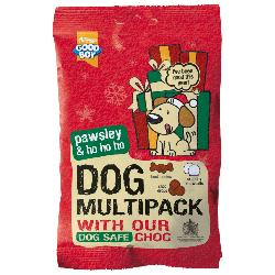 Armitage Pawsley Christmas Multipack Of Treats For Dogs