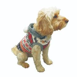 Rosewood Winter Warmer Hooded Dog Fleece