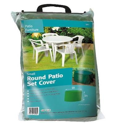 Gardman Small Round Patio Set Cover 140x94cm