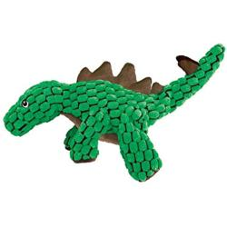 KONG Dynos Plush Green Stegosaurus Dog Toy (Large)