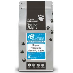 Pet Connection Super Premium Hypoallergenic Dog Food (Senior/Light) - Fish & Rice