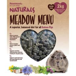 Rosewood Naturals Meadow Menu Guinea Pig Food 2kg