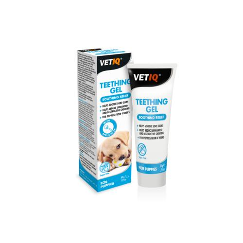 VetIQ Teething Gel Soothing Relief for Puppies - 50g
