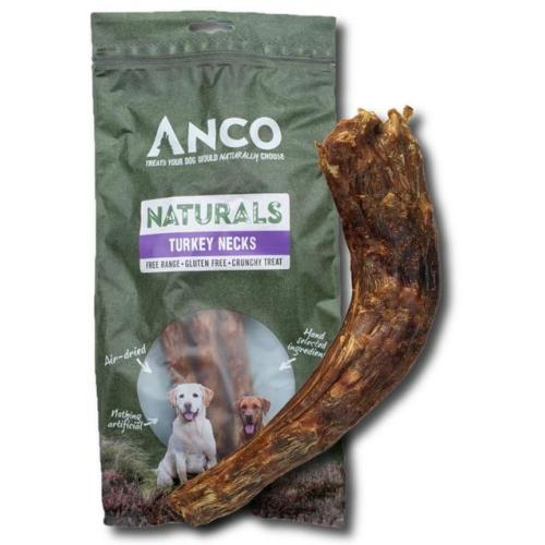 Anco Naturals Dog Treat Turkey Necks