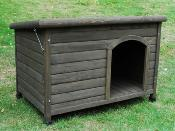 Cheeko Flatroof Cabin Dog Kennel Large