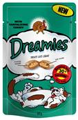 Dreamies Cat Treats - Turkey 60g