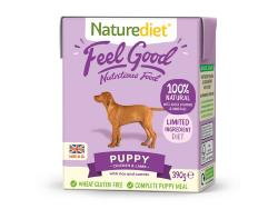 ASSISI ANIMAL SANCTUARY DONATION - Naturediet Puppy And Junior Tray 390g