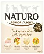 Naturo Wet Dog Food (Senior) - Turkey, Rice and Veg 400g