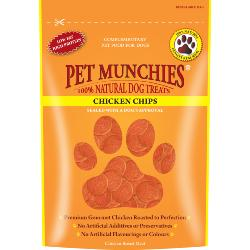 Pet Munchies Natural Chicken Chips (100g)