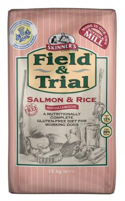Skinners Field and Trial Hypoallergenic Dog Food - Salmon & Rice 15kg