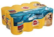 Pedigree Wet Dog Food Tins (Adult) - Variety in Jelly with Fish Oils (12 X 400g)