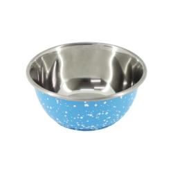 Cheeko Granite Blue Stainless Steel Bowl