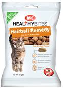 M&C Healthy Bites Hairball Remedy Treats for Cats & Kittens 65g