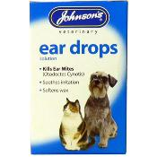 Johnson's Veterinary Dog & Cat Ear Drops
