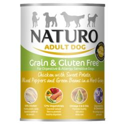 ASSISI ANIMAL SANCTUARY DONATION - Naturo Chicken And Sweet Potato Tin 390g