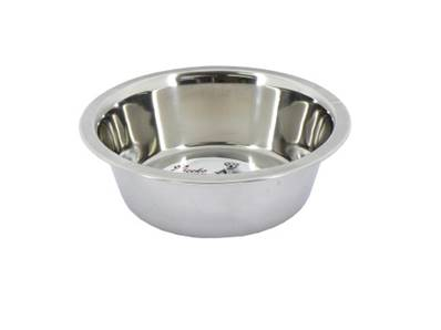 Cheeko Stainless Steel Bowl 1700ml - For Dogs And Cats
