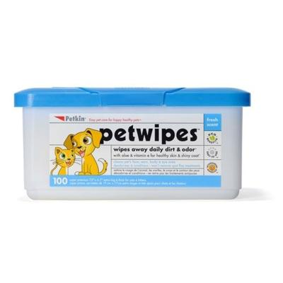 Petkins Pet Wipes 100 Pack
