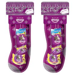 Whiskas Christmas Stocking For Cats Pack Of 2