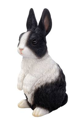 Vivid Arts Real Life Rabbit Family Standing Dutch Rabbit