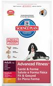 Hills Science Plan Advanced Fitness Dog Food (Adult) - Medium Chicken 12kg