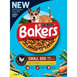 Bakers Complete Dog Food For Small Dogs - Chicken 1.1kg