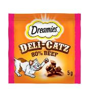 DREAMIES Deli-Catz Cat Treats With Beef