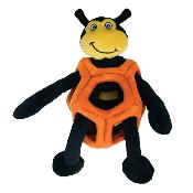 Kong Puzzlements Dog Toy - Bee - Large - Level 2
