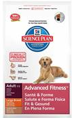 Hills Science Plan Advanced Fitness Dog Food for Large Breeds (Adult) - Lamb 12kg