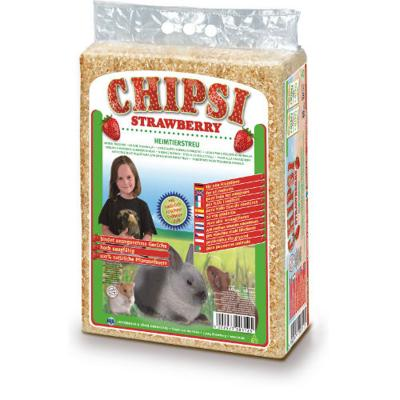 Chipsi Woodchip Shavings Strawberry 3200G