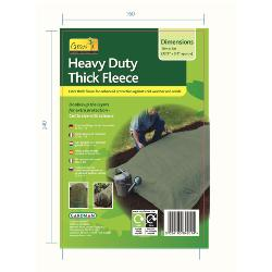 Gardman Heavy Duty Thick Plant Protection Fleece 10x1m