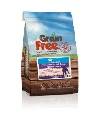LURCHER SOS DONATION - Pet Connection Grain Free Dog Food (Adult) - Duck 12kg