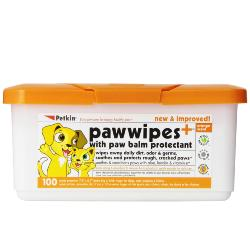 Petkin Paw Wipes 100 Pack