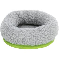 Trixie Cuddly Bed Grey/Green For Small Animals 16x13cm